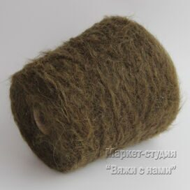 Пряжа Alpaca Filitaly Lab Wild Brushed 200 м 100 гр Мох