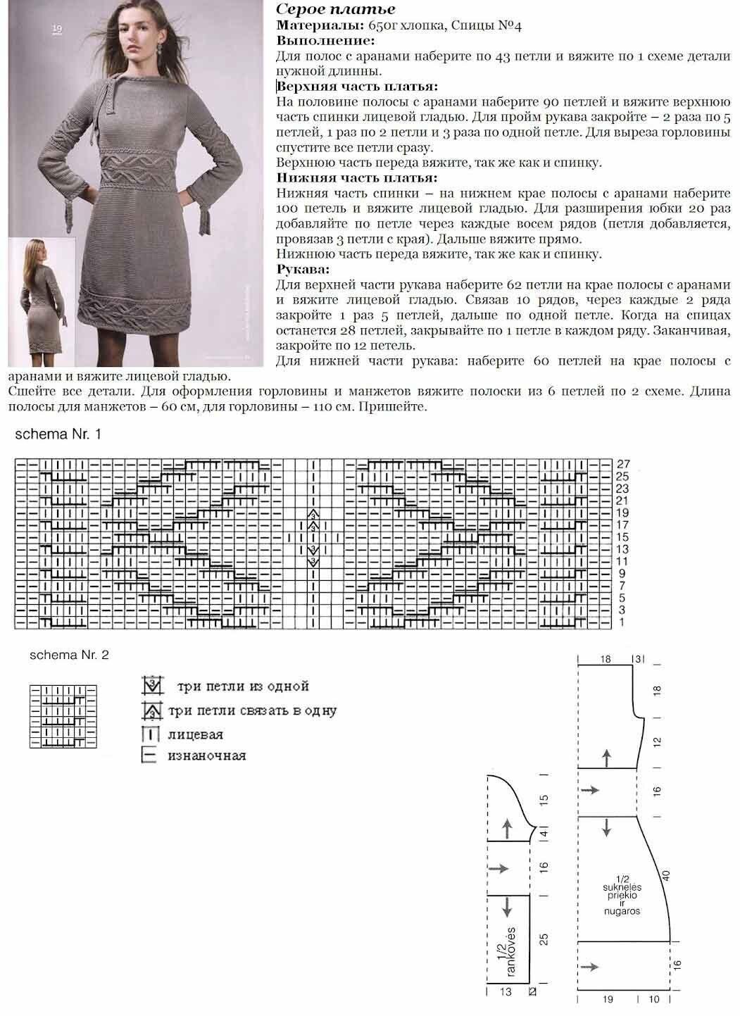 ниппельная поилка схема как связать вязаное платье фото территории