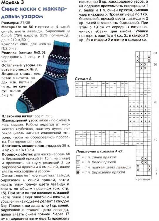 флаг схемы картинок для вязания носков спицами анна занимается английским